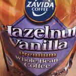 バニラとヘーゼルナッツの香りの珈琲