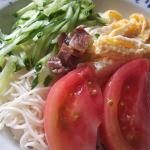 素麺(のせ麺)