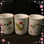 たち吉の湯飲み茶碗