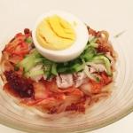 盛岡ビビン麺と豚バラ軟骨